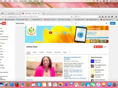 Thank You Subscribers Kathye Kaan Youtube Channel Clairvoyant Psychic Quantum Healer Spiritual Medium Horoscope Tarot Numerology Video Readings