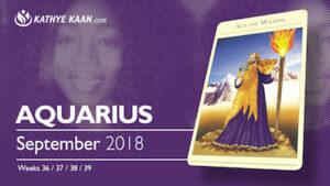 Aquarius Psychic Reading September 2018