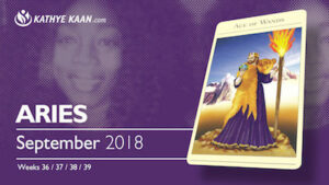 Aries Psychic Reading September 2018