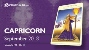 Capricorn Psychic Reading September 2018