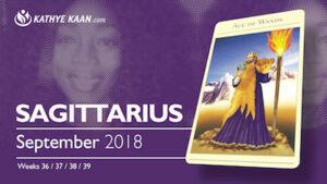 Sagittarius Psychic Reading September 2018