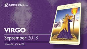 Virgo Psychic Reading September 2018