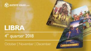 LIBRA QUARTERLY READING 2018 OCTOBER NOVEMBER DECEMBER KATHYE KAAN