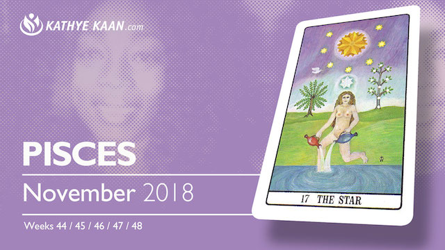 PISCES Psychic Reading November 2018