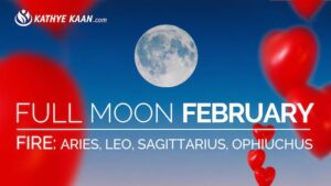 February 2019 Full Moon Reading for Aries, Leo, Sagittarius and Ophiuchus signs. Fire element.