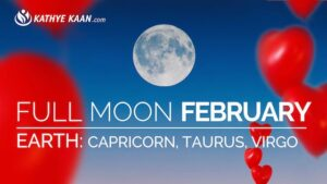 February 2019 Full Moon Reading for Capricorn, Taurus and Virgo signs. Earth element.