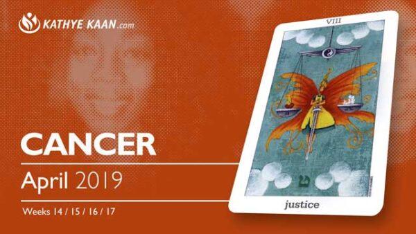 CANCER April 2019 Psychic Tarot Reading