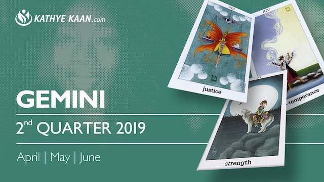 GEMINI 2nd Quarter 2019 April May June Reading