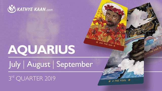 AQUARIUS July August September 2019 Extended Reading