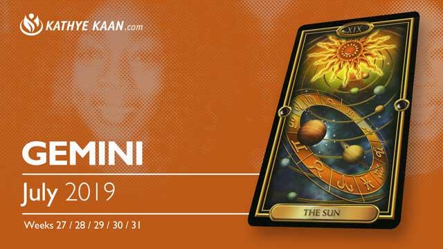 GEMINI July 2019 Psychic Tarot Reading