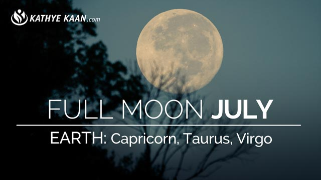 July 2019 Full Moon Reading Capricorn Taurus Virgo | Earth Sign