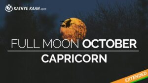 full moon october capricorn 2019 earth sign kathye kaan