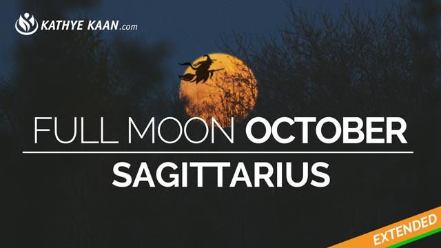 full moon october sagittarius 2019 fire sign kathye kaan