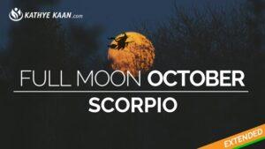 full moon october scorpio 2019 water sign kathye kaan