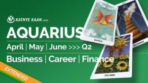 Aquarius April May June 2020