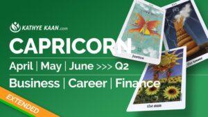 Capricorn April May June 2020