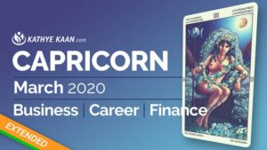 CAPRICORN MARCH 2020 BUSINESS CAREER FINANCE READING MONTHLY HOROSCOPE EXTENDED