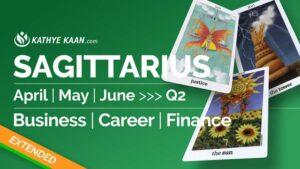 Sagittarius April May June 2020
