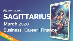 SAGITTARIUS MARCH 2020 BUSINESS CAREER FINANCE READING MONTHLY HOROSCOPE EXTENDED