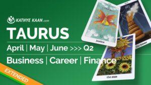 Taurus April May June 2020
