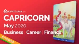 Capricorn May 2020 business reading by Kathye Kaan