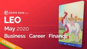 Leo May 2020 business reading by Kathye Kaan
