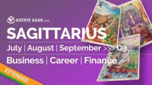 SAGITTARIUS JULY AUGUST SEPTEMBER Q3 2020 BUSINESS CAREER FINANCE READING HOROSCOPE